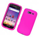 Soft Silicone Skin Cover Case for Samsung Galaxy S Blaze 4G (T-Mobile) - Pink