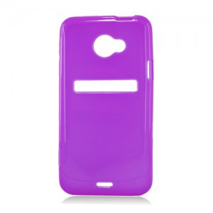 Soft TPU Gel Skin Cover Case for HTC Evo 4G LTE (Sprint) � Purple