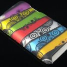 Hard Plastic Rubber Feel Design Case for Apple iPod Touch 4 - Abstract Art