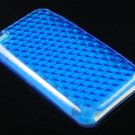 Crystal TPU Gel Diamond Skin Case for Apple iTouch 4 (4th Gen) - Blue