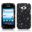 Hard Plastic Bling Design Case for LG Optimus Elite (Sprint/Virgin Mobile) – Black Diamond