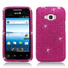 Hard Plastic Bling Design Case for LG Optimus Elite (Sprint/Virgin Mobile) – Hot Pink