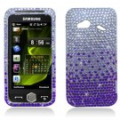 Hard Plastic Bling Rhinestone Case for HTC Droid Incredible 4G LTE (Verizon) – Purple Waterfall
