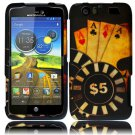 Hard Plastic Rubberized Design Case for Motorola Atrix 3 HD MB886 (AT&T) – Ace Poker