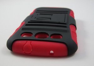 New Rugged Armor Hybrid Hard Case with Belt Clip Holster for Samsung Galaxy S3 III - Red