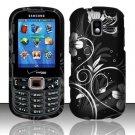 Midnight Garden Hard Plastic Rubberized Design Case for Samsung Intensity III SCH U485 (Verizon)