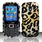 Golden Cheetah Hard Plastic Rubberized Design Case for Samsung Intensity III SCH U485 (Verizon)