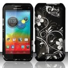 Hard Plastic Rubberized Snap On Case for Motorola Photon Q 4G LTE XT897 (Sprint) – Midnight Garden