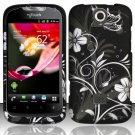 Hard Plastic Rubberized Snap On Case Cover Huawei myTouch Q U8730 (T-Mobile) – Midnight Garden