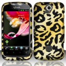 Hard Plastic Rubberized Snap On Case Cover for Huawei myTouch Q U8730 (T-Mobile) – Golden Cheetah