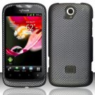 Hard Plastic Rubberized Snap On Case Cover for Huawei myTouch Q U8730 (T-Mobile) – Carbon Fiber