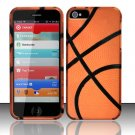 New Hard Plastic Rubberized Snap On Case Cover for Apple iPhone 5 – Basketball