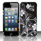 New Hard Plastic Rubberized Snap On Case Cover for Apple iPhone 5 – Midnight Garden