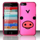 New Hard Plastic Rubberized Snap On Case Cover for Apple iPhone 5 – Silly Piggy