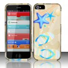 New Hard Plastic Rubberized Snap On Case Cover for Apple iPhone 5 – Beach Scene