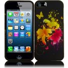 New Hard Plastic Rubberized Snap On Case Cover for Apple iPhone 5 – Heavenly Flowers