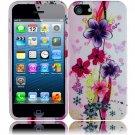New Hard Plastic Snap On Design Case Cover for Apple iPhone 5 – Elite Flower