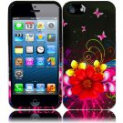New Hard Plastic Snap On Design Case Cover for Apple iPhone 5 – Delusional Flower