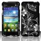 Hard Plastic Rubberized Snap On Case Cover for LG Escape P870 (AT&T) – Midnight Garden