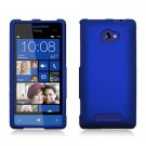 Hard Plastic Snap On Case Cover for HTC Windows Phone 8X (Verizon/AT&T/T-Mobile) – Blue