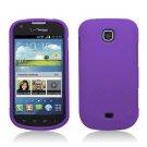 Hard Plastic Rubberized Snap On Case Cover for Samsung Galaxy Stellar 4G i200 (Verizon) - Purple