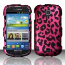 Hard Plastic Snap On Case Cover for Samsung Galaxy Stellar 4G i200 (Verizon) - Hot Pink Leopard