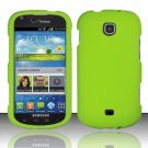 Hard Plastic Rubberized Snap On Case Cover for Samsung Galaxy Stellar 4G i200 (Verizon) - Neon Green