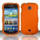 Hard Plastic Rubberized Snap On Case Cover for Samsung Galaxy Stellar 4G i200 (Verizon) - Orange