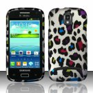 Hard Plastic Snap On Case Cover for Samsung Galaxy S Relay 4G T699 (T-Mobile) – Rainbow Leopard