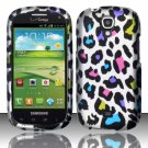Hard Plastic Snap On Case Cover for Samsung Stratosphere 2 i415 (Verizon) - Rainbow Leopard