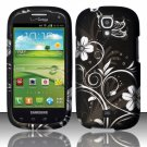 Hard Plastic Snap On Case Cover for Samsung Stratosphere 2 i415 (Verizon) - Midnight Garden