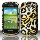 Hard Plastic Snap On Case Cover for Samsung Stratosphere 2 i415 (Verizon) - Golden Cheetah