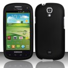 Hard Plastic Snap On Case Cover for Samsung Stratosphere 2 i415 (Verizon) - Black