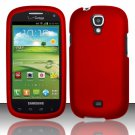 Hard Plastic Snap On Case Cover for Samsung Stratosphere 2 i415 (Verizon) - Red