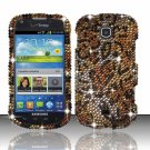Hard Plastic Bling Snap On Case Cover for Samsung Galaxy Stellar 4G i200 (Verizon) - Golden Cheetah