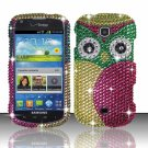 Hard Plastic Bling Snap On Case Cover for Samsung Galaxy Stellar 4G i200 (Verizon) - Starry Owl