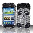 Hard Plastic Bling Snap On Case Cover for Samsung Galaxy Stellar 4G i200 (Verizon) - Panda Bear