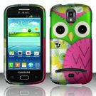 Hard Plastic Snap On Case Cover for Samsung Galaxy S Relay 4G T699 (T-Mobile) – Starry Owl