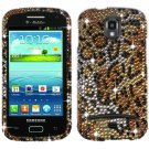 Hard Plastic Bling Case Cover for Samsung Galaxy S Relay 4G T699 (T-Mobile) – Golden Cheetah