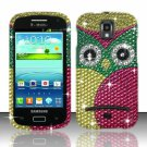 Hard Plastic Bling Case Cover for Samsung Galaxy S Relay 4G T699 (T-Mobile) – Starry Owl