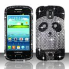 Hard Plastic Bling Case Cover for Samsung Galaxy S Relay 4G T699 (T-Mobile) – Panda Bear