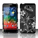 Hard Plastic Snap On Matte Design Case Motorola Droid RAZR Maxx HD (Verizon) – Midnight Garden