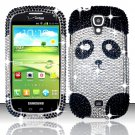 Hard Plastic Bling Snap On Case Cover for Samsung Stratosphere 2 i415 (Verizon) - Cute Panda Bear
