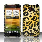 Hard Plastic Snap On Case Cover for HTC Droid DNA 6435 (Verizon) - Golden Cheetah