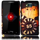 Hard Plastic Snap On Case Cover for Motorola Droid RAZR HD XT926 (Verizon) - Ace Poker