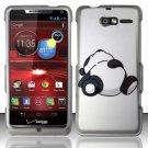 Hard Plastic Snap On Case Cover Motorola Droid RAZR M 4G LTE XT907 (Verizon) - Lazy Bear