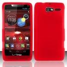Soft Silicone Rubber Skin Case Cover for Motorola Droid RAZR M 4G LTE XT907 (Verizon) – Red
