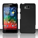 Hard Plastic Snap On Matte Case Cover for Motorola Droid RAZR Maxx HD (Verizon) – Black