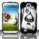 Hard Plastic Rubberized Snap On Case Cover for Samsung Galaxy S4 IV i9500 – Ace Spade Skull