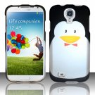 Hard Plastic Rubberized Snap On Case Cover for Samsung Galaxy S4 IV i9500 – Flabby Penguin